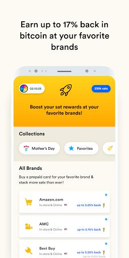 Fold - Bitcoin Cashback Rewards  Screenshots 4