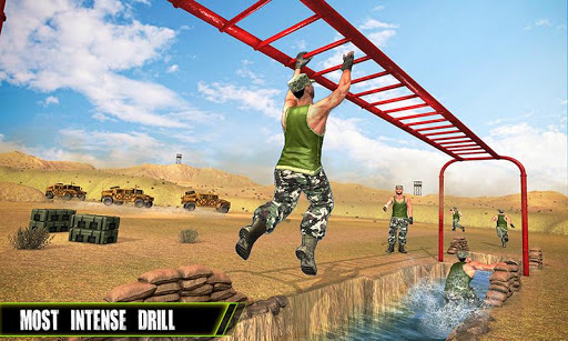 US Army Training School Game: Obstacle Course Race 4.0.0 screenshots 4