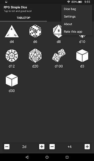 RPG Simple Dice  screenshots 11