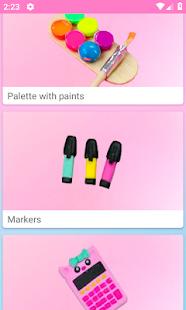 How to make miniature school supplies  Screenshots 1