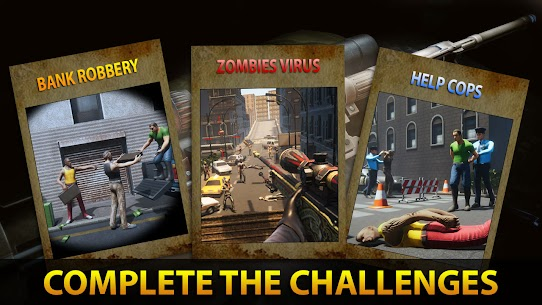 Sniper 3D Assassin Fury: FPS Offline games 2021 Mod Apk (Unlimited Money) 4