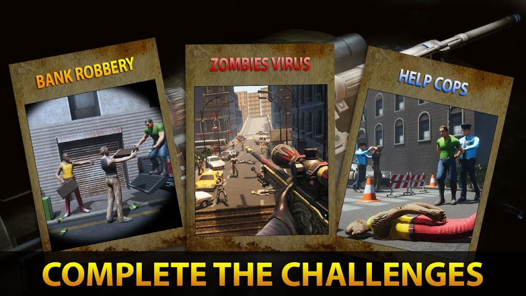 Sniper 3D Assassin Fury: FPS Offline games 2021  poster 3