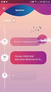 Mood Tracker Journal. Mental Health, Depression