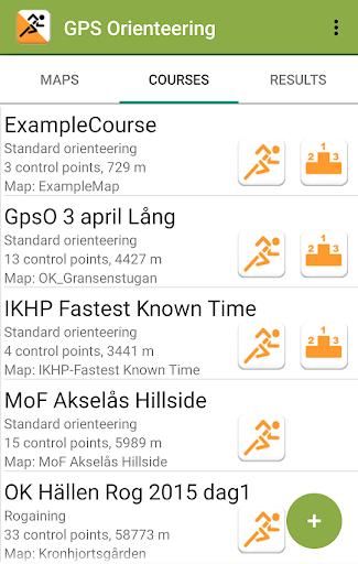 gps orienteering demo screenshot 1
