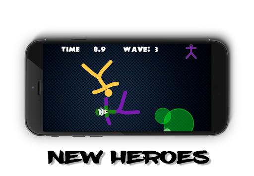 Stickman Warriors Online 1.0 screenshots 2