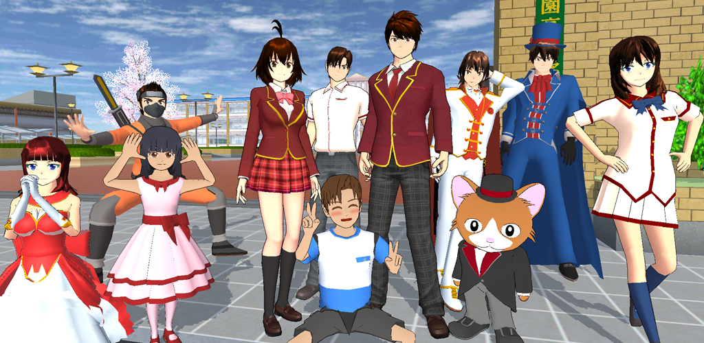 SAKURA School Simulator poster 0