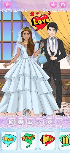 Wedding Coloring Dress Up - Games for Girls  screenshots 3