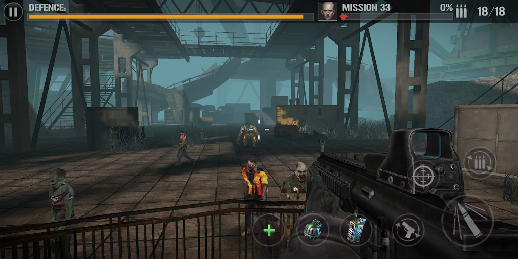 zombie comando shooting:offline fps military-games  poster 12