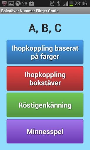 Bokstäver Nummer Färger Gratis For PC Windows (7, 8, 10, 10X) & Mac Computer Image Number- 14