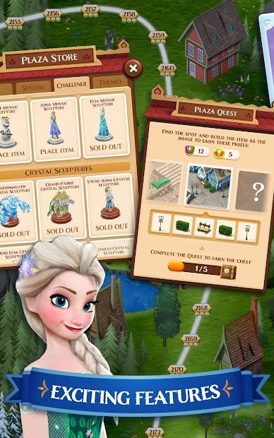 Disney Frozen Free Fall - Play Frozen Puzzle Games screenshot 7