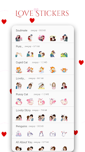 WAStickerApps – New Stickers Love Story Pack 1.2