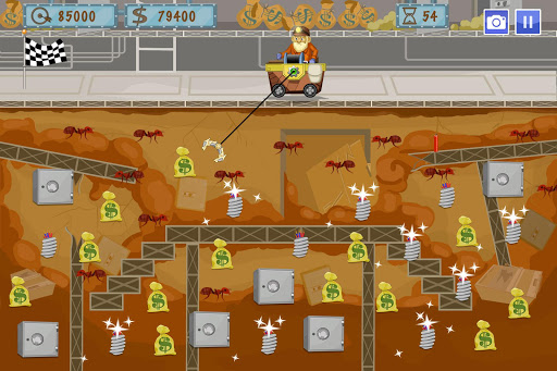Gold Miner World Tour: Gold Rush Puzzle RPG Game apktram screenshots 3