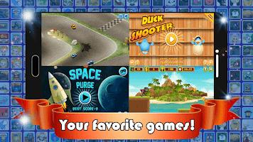 fun Game Box : Free Offline Multiplayer Games 2021