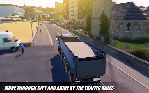 Euro Cargo Truck Simulation 3D Truck Driving Games 1.0 screenshots 5