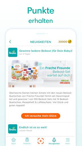 Pampers Club Treueprogramm u2013 jetzt Pru00e4mien sichern 3.27.0 Screenshots 3