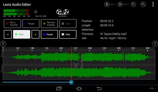 Lexis Audio Editor 1.1.105 Screenshots 7