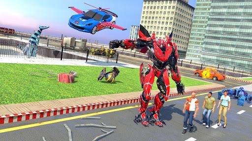 Mega Robot Games: Flying Car Robot Transform Games modavailable screenshots 14