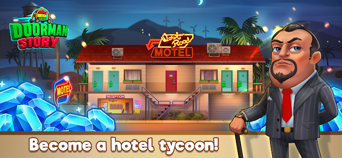 Doorman Story: Hotel team tycoon, time management Screenshot