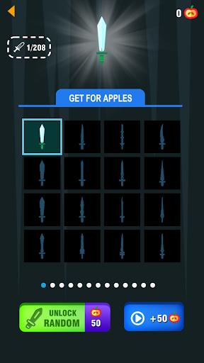 Télécharger Gratuit Finger Flippy Knife APK MOD (Astuce) screenshots 1