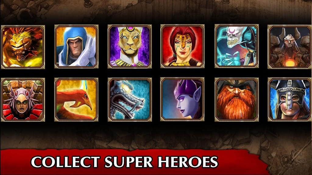 Legendary Heroes MOBA Offline  poster 1
