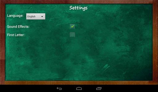 Educational Hangman in English 2.67 screenshots 18