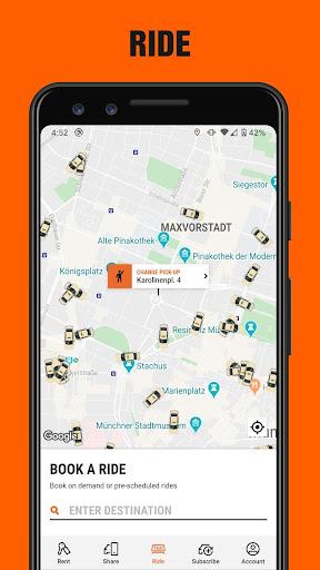SIXT: Car rental, Carsharing & Taxi 9.40.2-10277 Screenshots 4