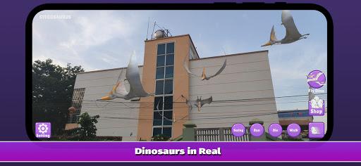 Dinosaur 3D AR - Augmented Reality 2.2.0 screenshots 3