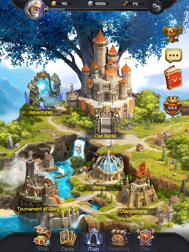 Card Heroes - CCG game with online arena and RPG 2.3.1948 screenshots 21