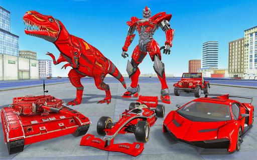 Tank Robot Car Game 2020 u2013 Robot Dinosaur Games 3d screenshots 10