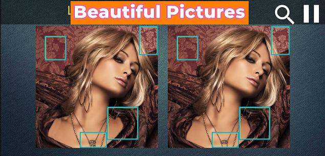 Spot Differences Puzzle — Beauty Grils Pictures 1