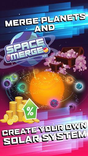 Space Merge: Galactic Idle Game screenshots 1