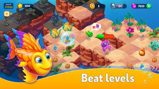 Sea Merge! Fish Aquarium Game & Ocean Puzzle  screenshots 2