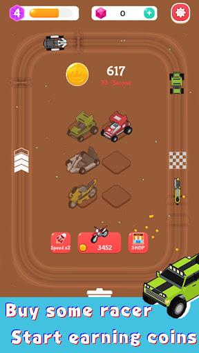 Merge Car Racer - Idle Rally Empire  screenshots 12