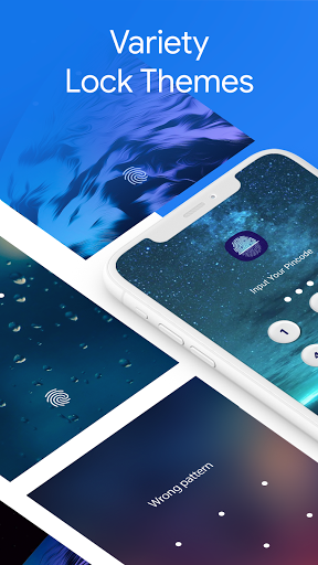 App Lock Fingerprint Password, Lock Screen Pattern android2mod screenshots 7
