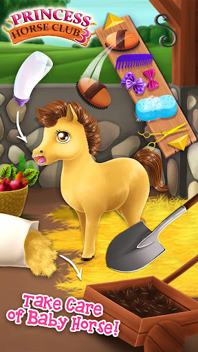Princess Horse Club 3 - Royal Pony & Unicorn Care 4.0.50017 screenshots 2