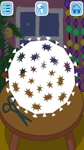 Kids handcraft: Snowflakes  screenshots 5