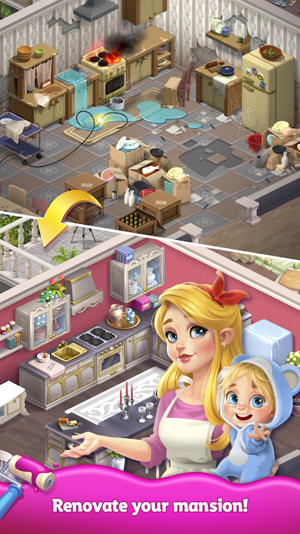 Merge Matters: Home renovation game with a twist poster 10