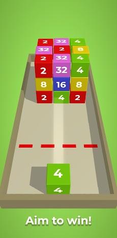 チェーンキューブ:2048 3Dマージゲームのおすすめ画像5