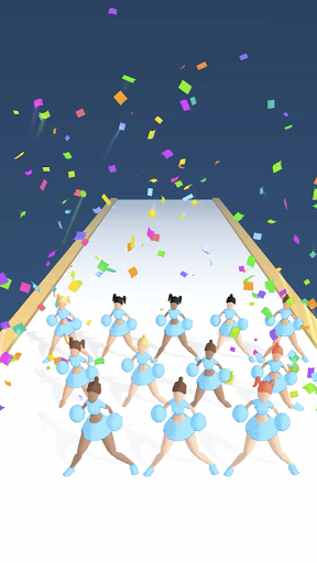 Cheerleader Run 3D screenshots 2