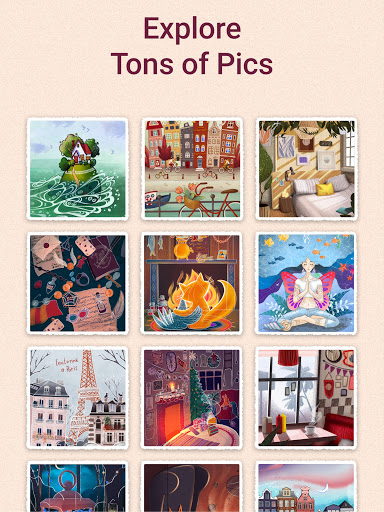 Art Puzzle - Jigsaw Game with Color Pictures  Screenshots 14