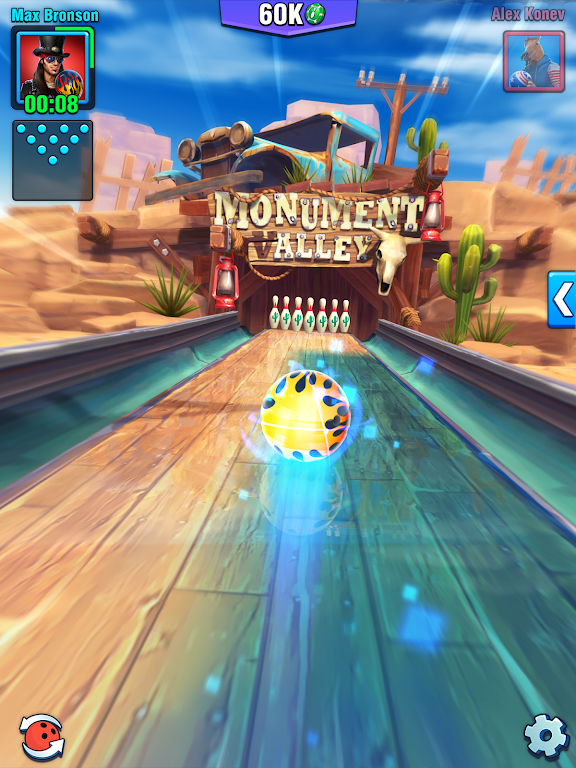 Bowling Crew — 3D bowling game poster 12