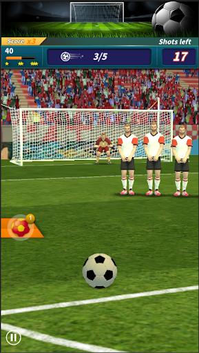 Télécharger Gratuit Shootout:finger football APK MOD (Astuce) screenshots 1