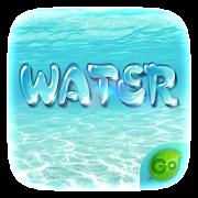 GO Keyboard Theme Water  Icon