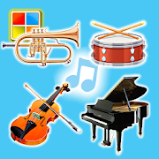 Musical Instruments Sounds Cards