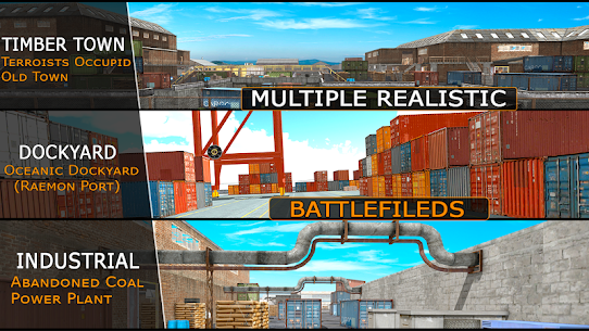 Police Counter Terrorist Strike Battlegrounds Hack for Android and iOS 4