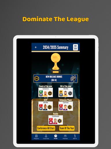 Ultimate Basketball General Manager - Sport Sim 1.2.1 screenshots 9