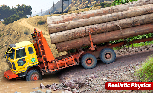 Future Truck Simulator : Hill Transport Driver  screenshots 7