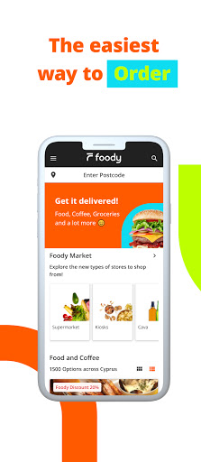 Foody - Food and Groceries Delivery in Cyprus screen 0