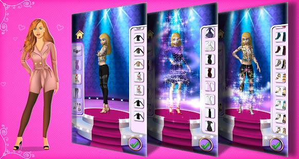 女の子のためのファッションパレード-3Dモデル変身ゲーム