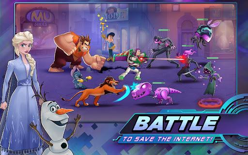 Disney Heroes: Battle Mode Apkfinish screenshots 9